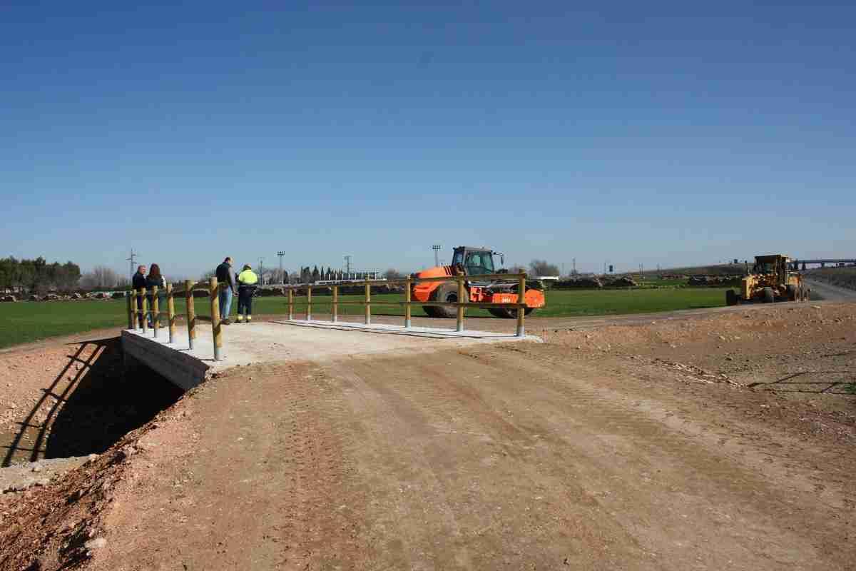 La ronda agrícola de Torralba de Calatrava está finalizada 1