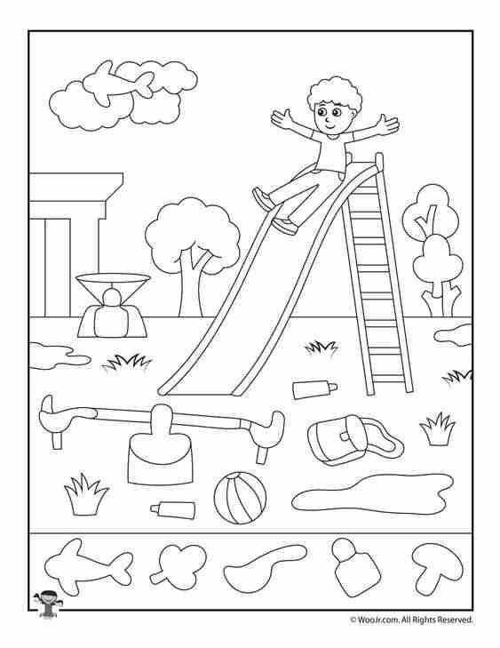 dibujos para colorear con ninos III