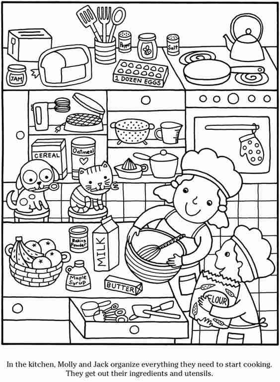 dibujos para colorear con ninos XI