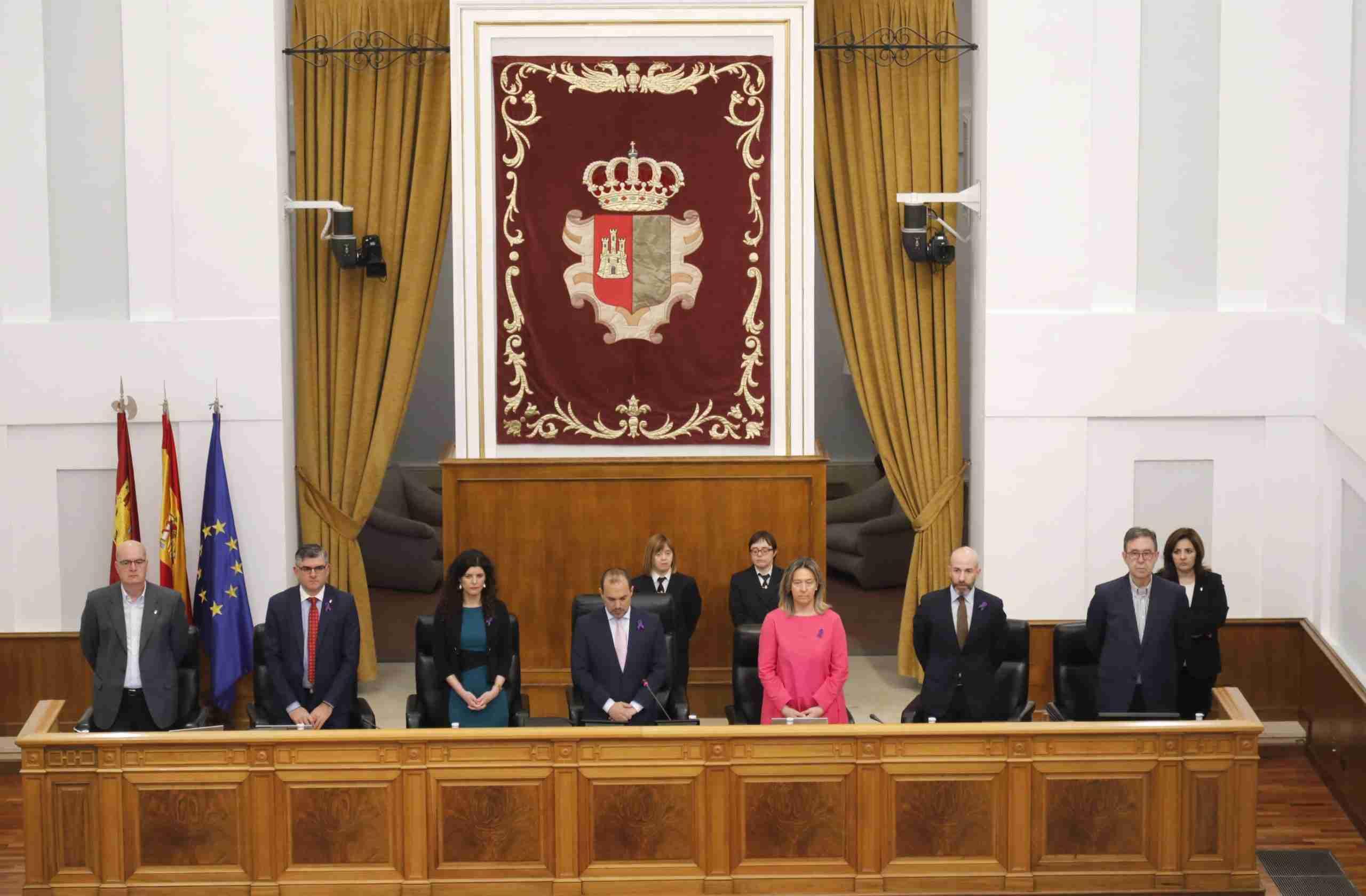 Unión por la igualdad de género en las Cortes de Castilla-La Mancha en vísperas del 8M 3