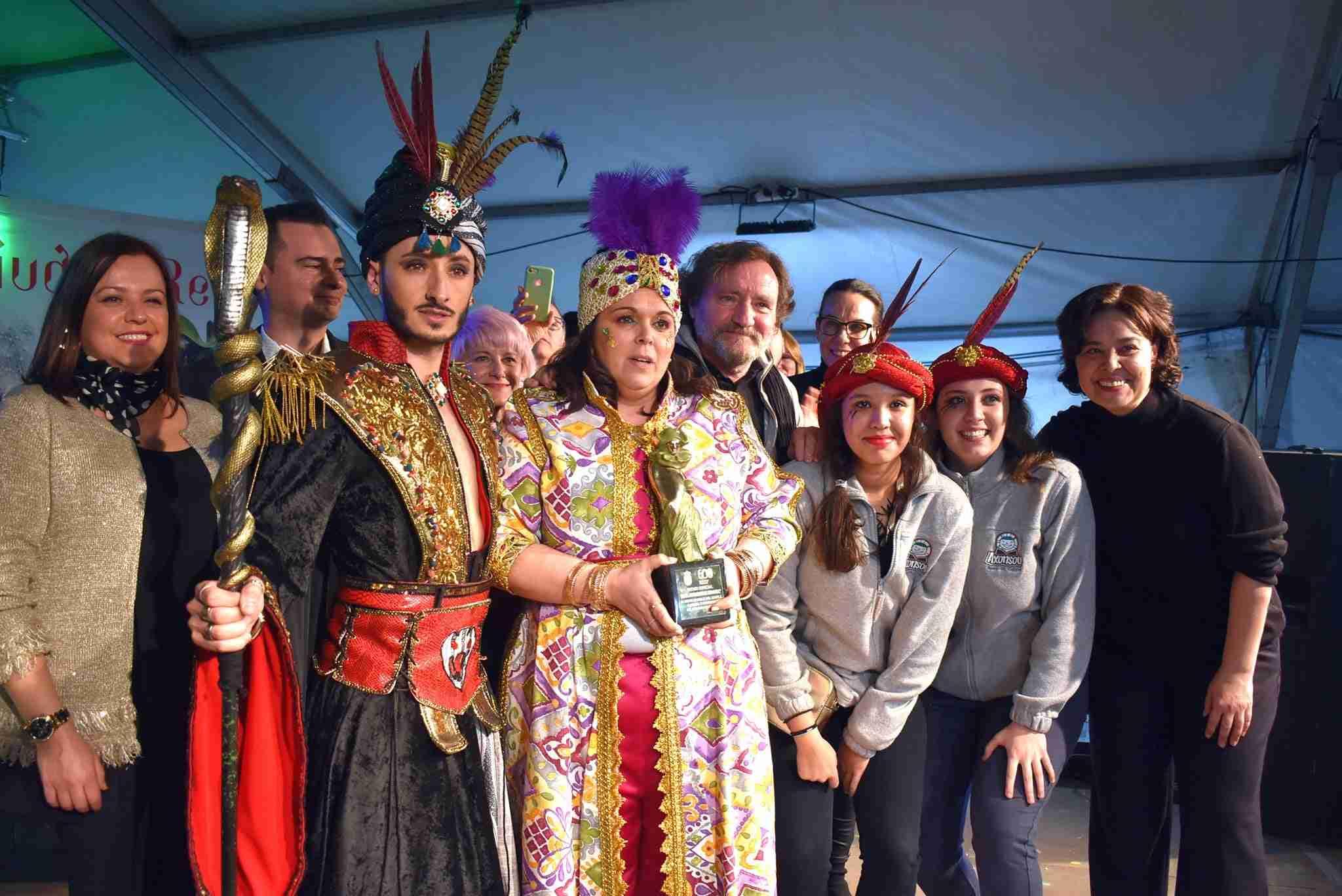 Axonsou se lleva el Arlequín de Oro del Carnaval de Ciudad Real 63