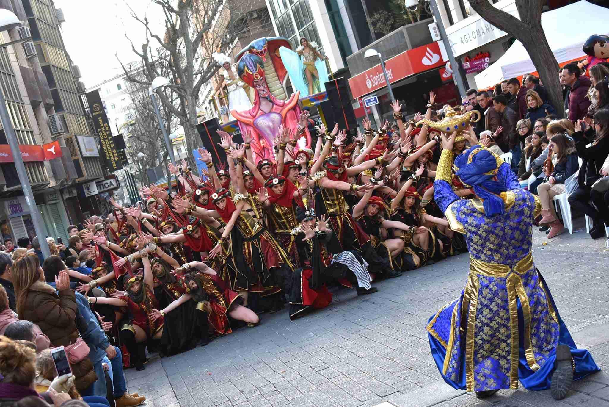 Axonsou se lleva el Arlequín de Oro del Carnaval de Ciudad Real 66