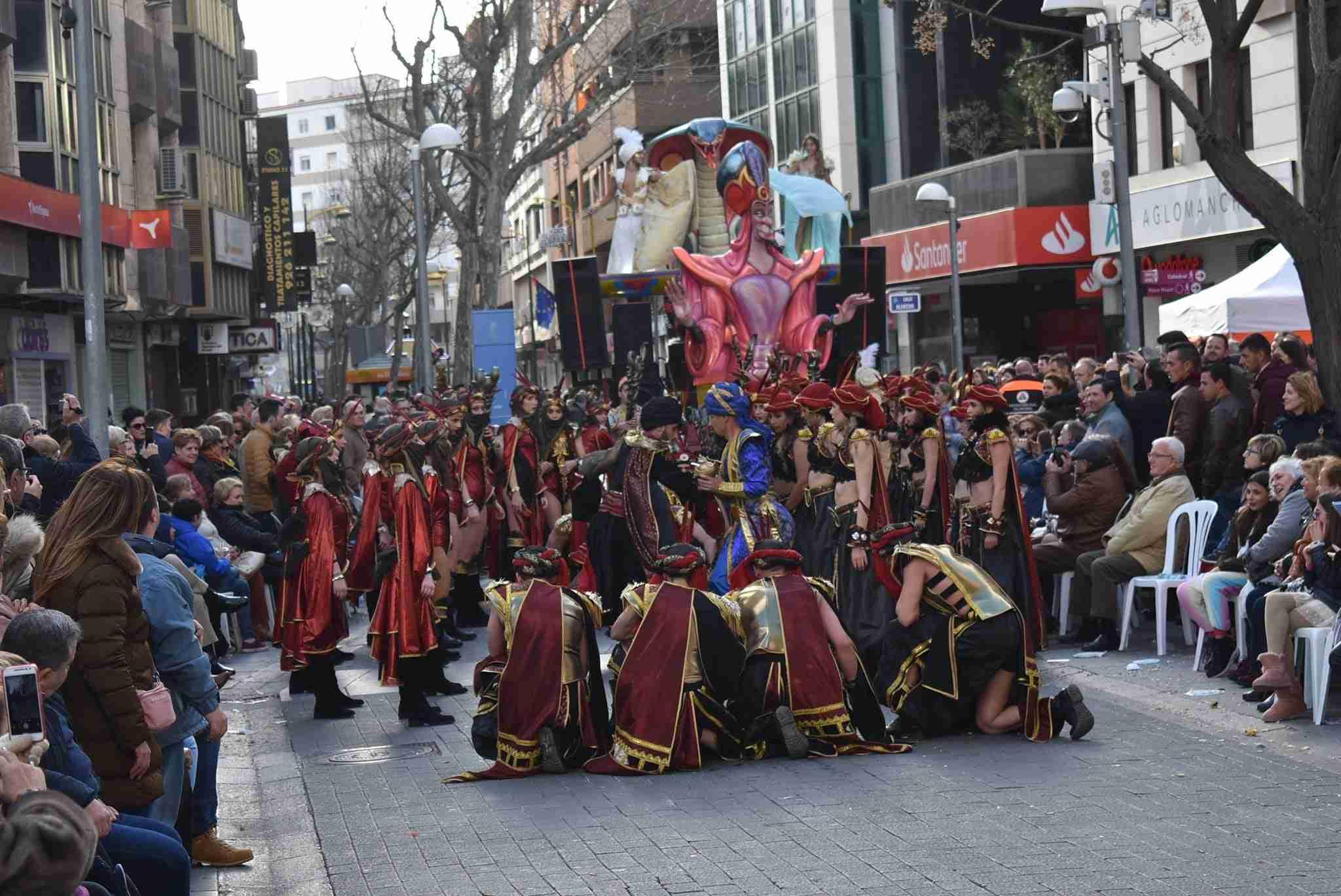 Axonsou se lleva el Arlequín de Oro del Carnaval de Ciudad Real 72
