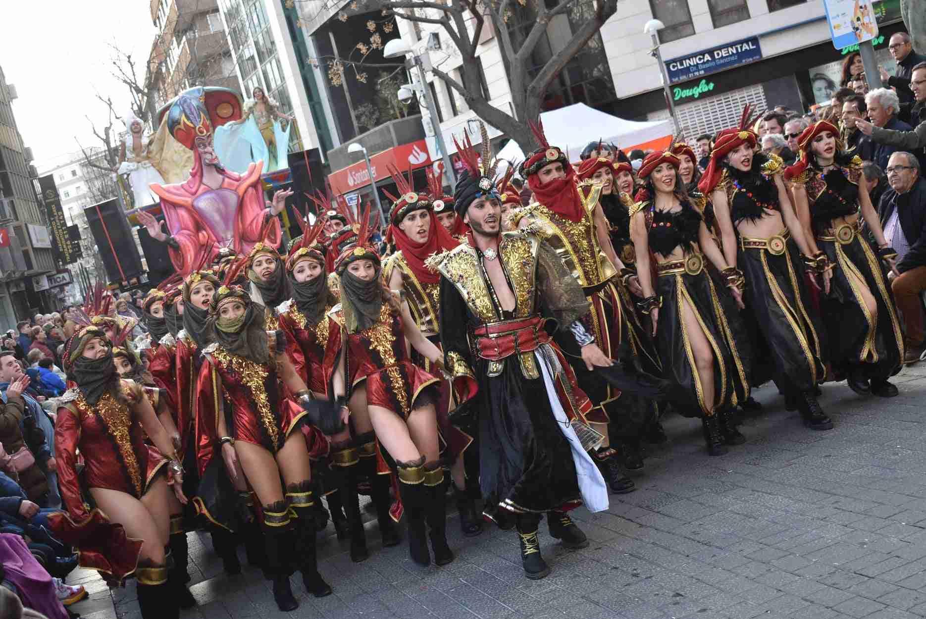 Axonsou se lleva el Arlequín de Oro del Carnaval de Ciudad Real 74