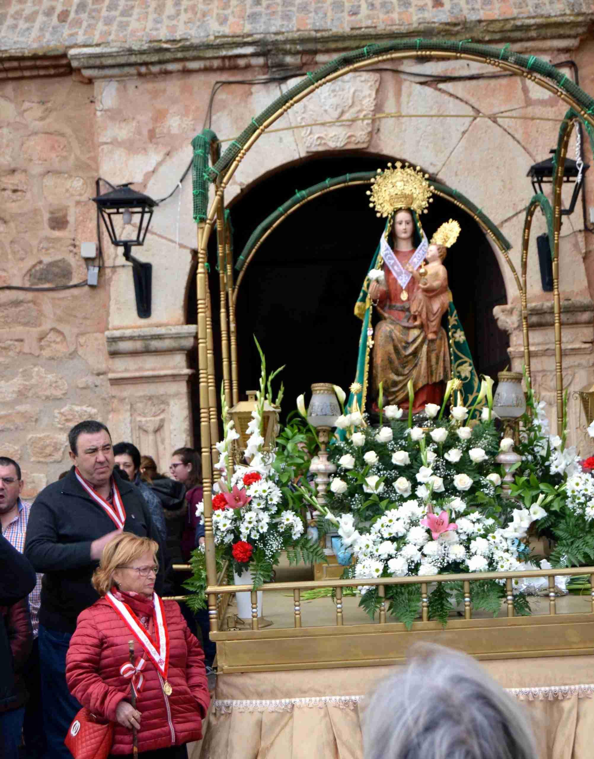 Menos gente, pero la misma devoción, en la tradicional Romería en honor a la Virgen de Oreto y Zuqueca de Granátula 9