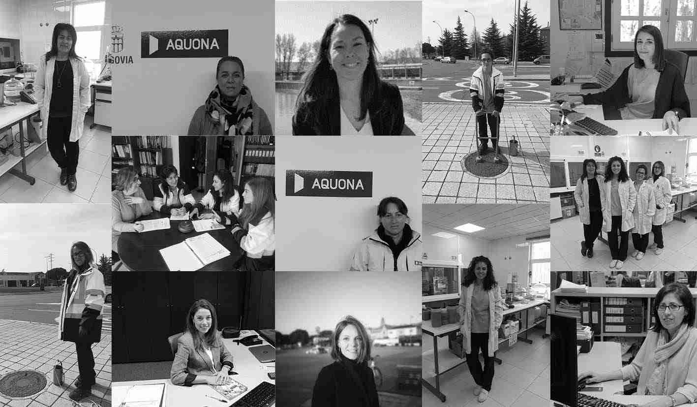 Aquona lanza una campaña de reconocimiento del papel de la mujer en el sector del agua 3