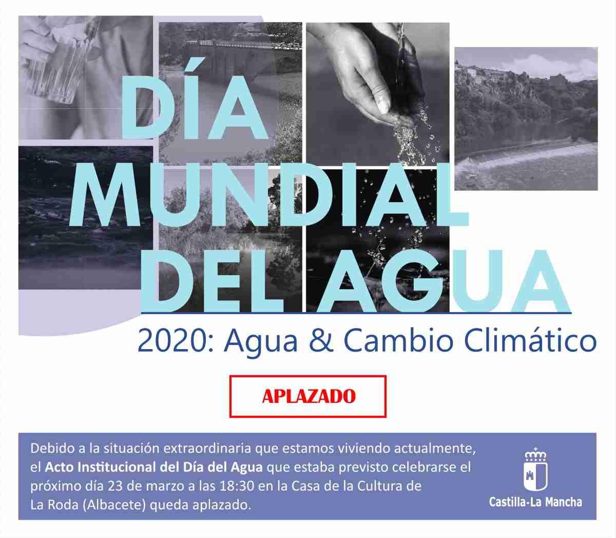 aplazan dia mundial del agua
