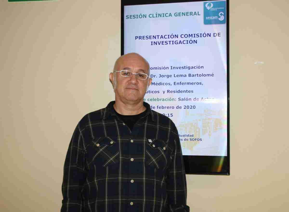 doctor lema de la comision de Investigacion del area Integrada de Cuenca