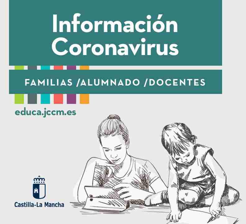 El Gobierno de Castilla-La Mancha habilita en el Portal de Educación, un espacio nuevo con información y consejos para familia, alumnado y docentes 1