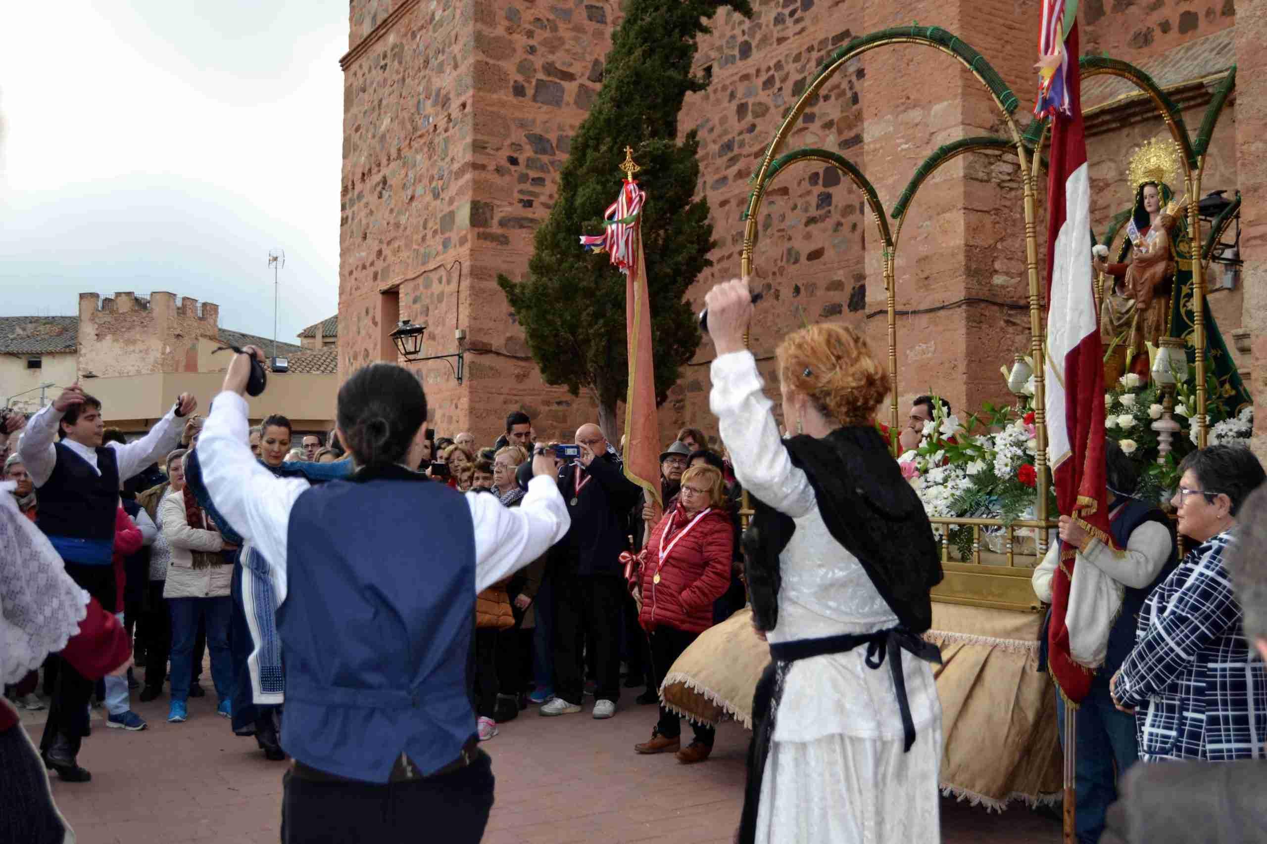 Menos gente, pero la misma devoción, en la tradicional Romería en honor a la Virgen de Oreto y Zuqueca de Granátula 11