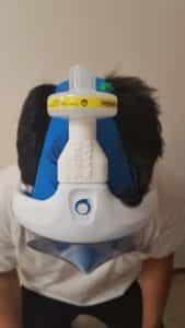 Máscara integral de snorkel para ayudar a los sanitarios a salvar vidas 1