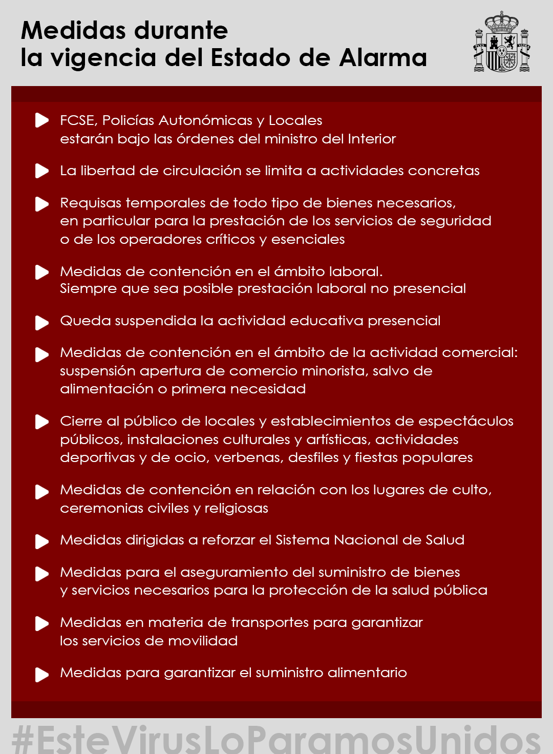 España declara el Estado de Alarma por la crisis del Covid-19 3