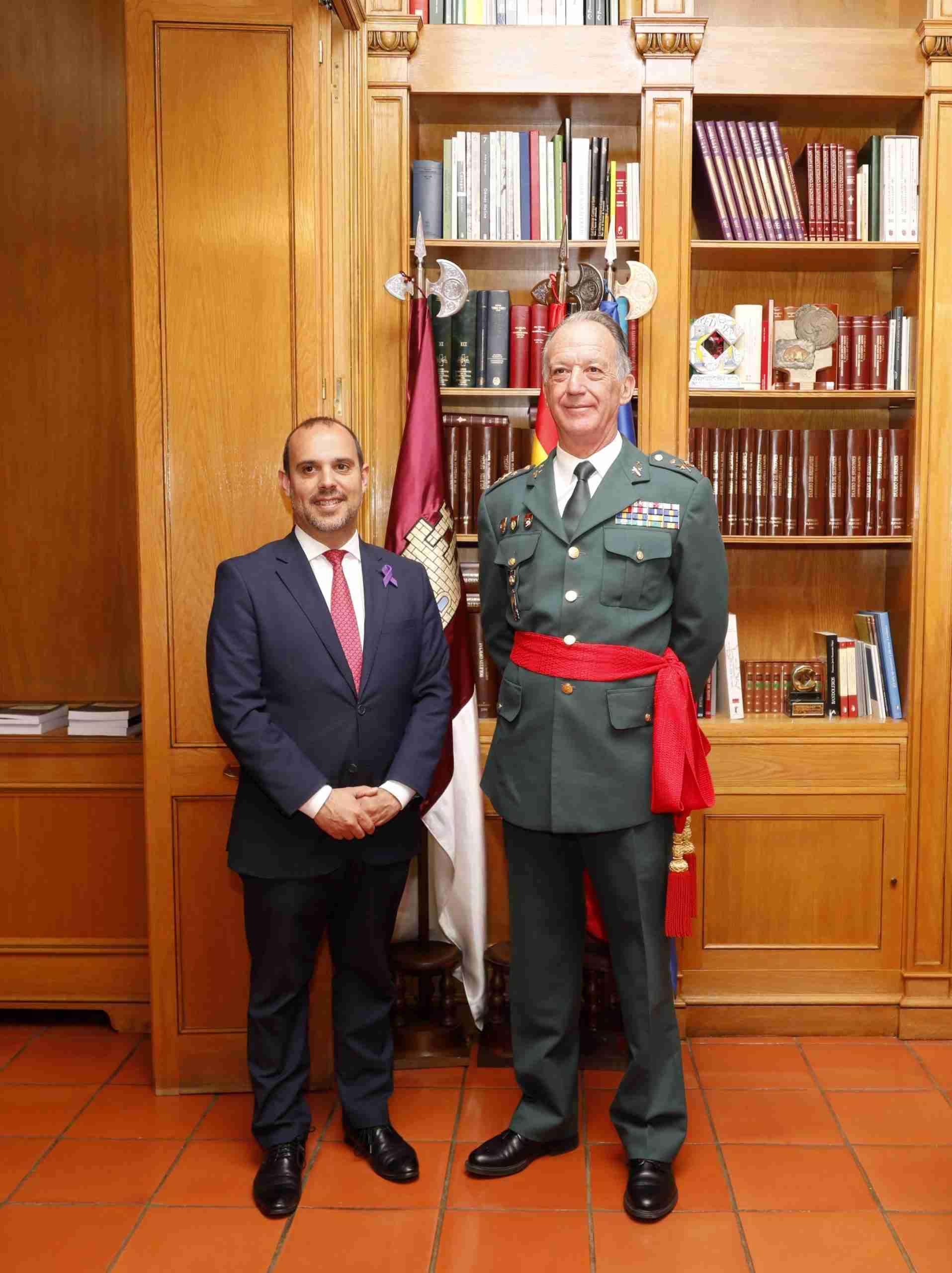 Reunión con el nuevo jefe de la Guardia Civil en Castilla-La Mancha 3
