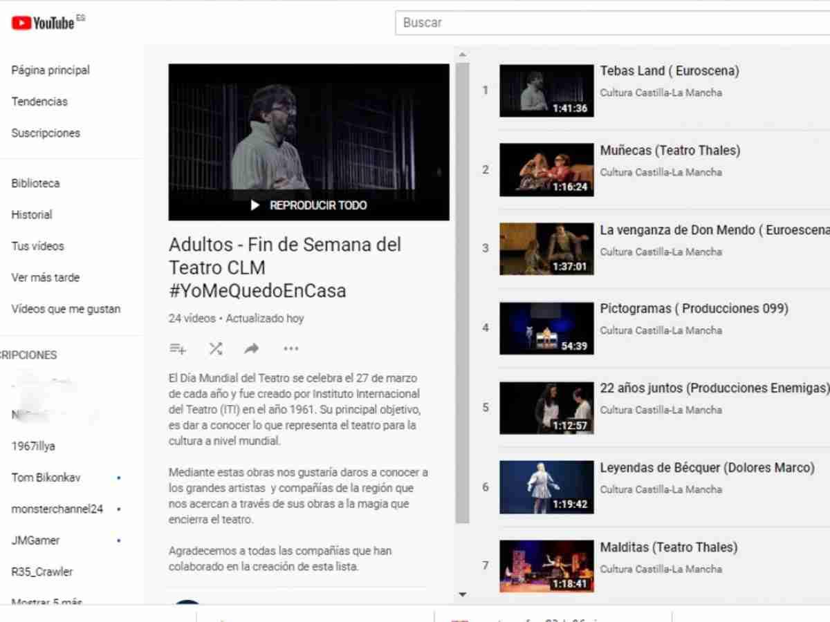 obras teatrales por el dia mundial del teatro