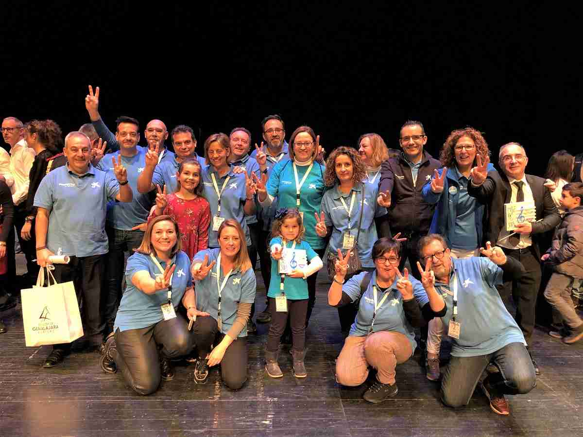 """Los Voluntarios de """"la Caixa"""" en Castilla la Mancha reciben un homenaje por su labor en favor de los niños con discapacidad 5"""