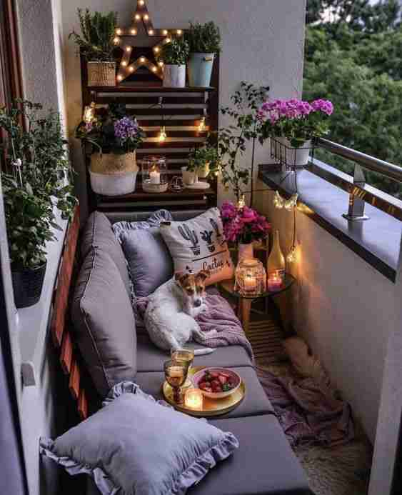 ideas para decorar el balcon III