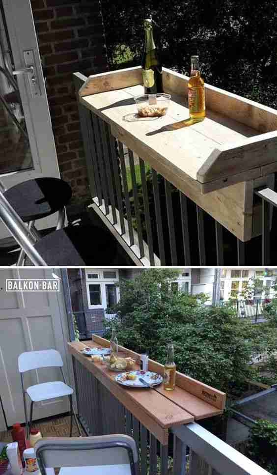 ideas para decorar el balcon II