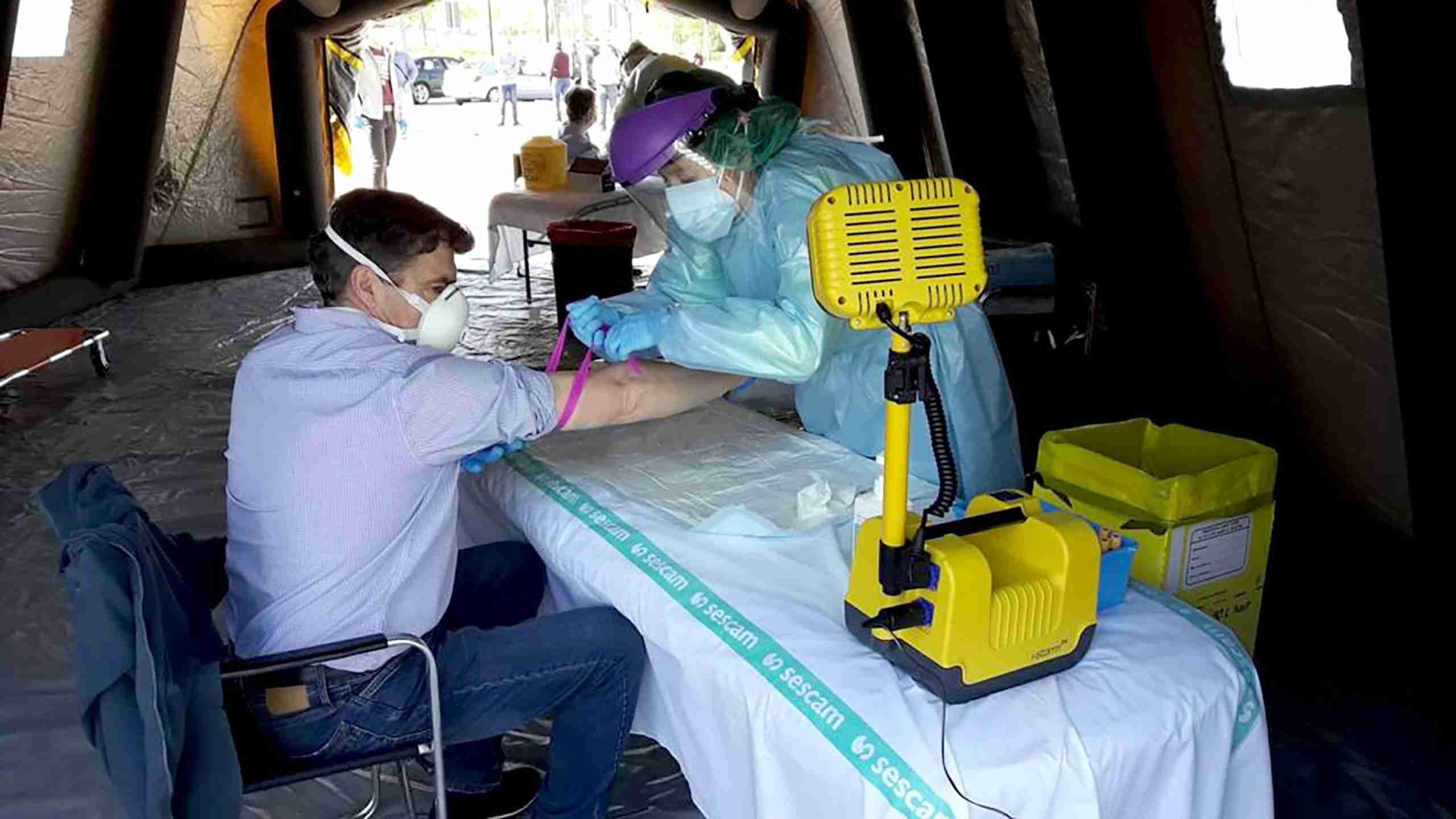 AutoCovid en Ciudad Real, el punto móvil para los test rápido y PCR de coronavirus 7