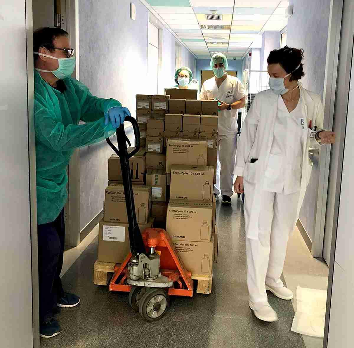 Los hospitales de la provincia de Ciudad Real reciben más de 641.000 artículos de protección 5