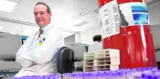 José María Moraleda, jefe del Servicio de Hematología de La Arrixaca y coordinador hospitalario para trasplantes de médula. / F. MANZANERA / AGM