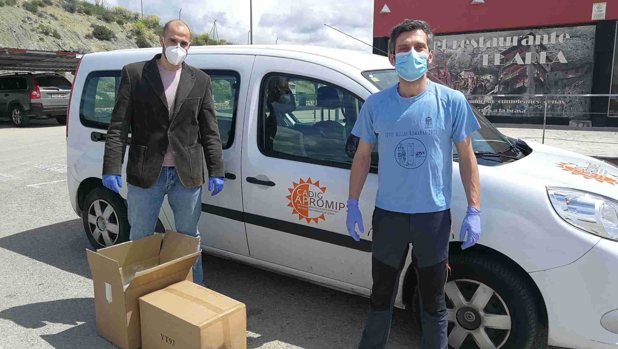 """CaixaBank y la Fundación """"la Caixa"""" colaboran con  Plena inclusión Castilla-La Mancha en la adquisición de EPIs 6"""