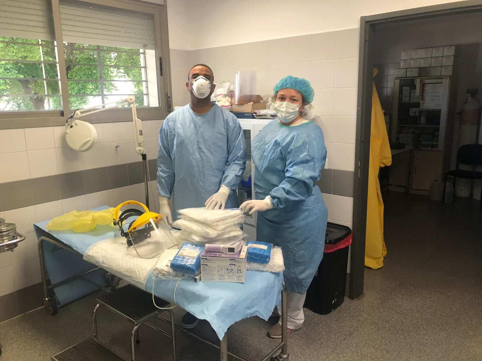 Ánthropos dota de material sanitario al Centro de Atención Primaria de Herencia 6