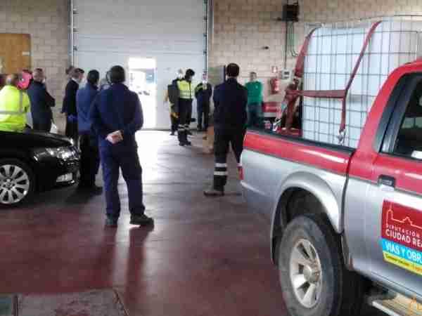 Personal del área de Obras de la Diputación desinfecta a partir de mañana 32 pueblos de la provincia 3
