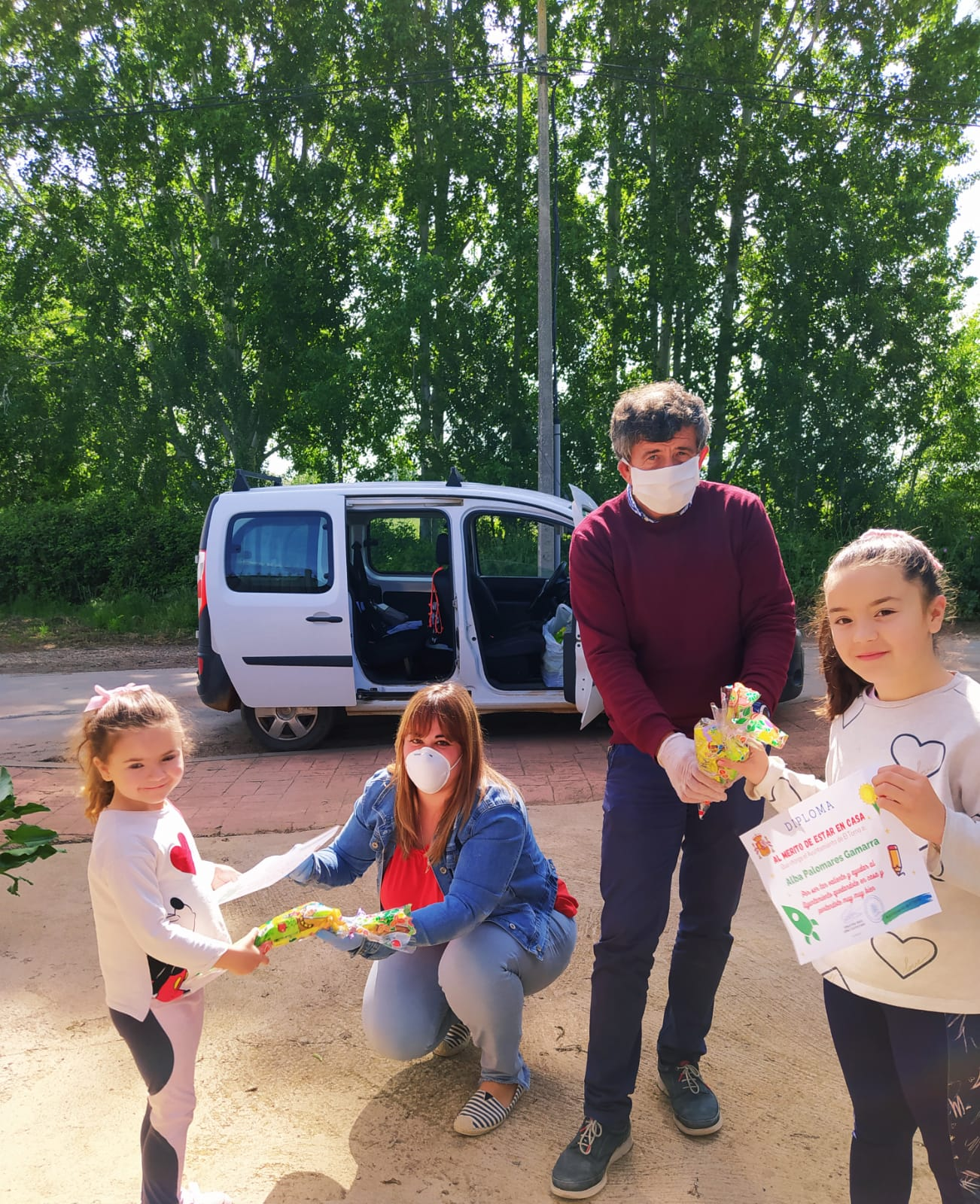 El alcalde de El Torno agradece a los niños su colaboración en la lucha contra el coronavirus 9