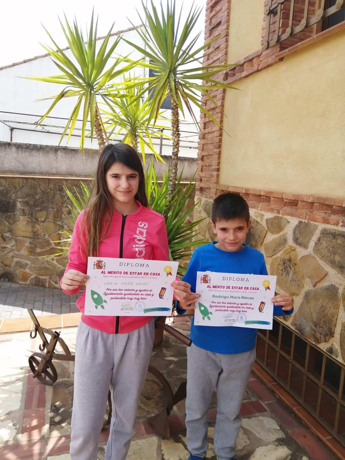 El alcalde de El Torno agradece a los niños su colaboración en la lucha contra el coronavirus 11