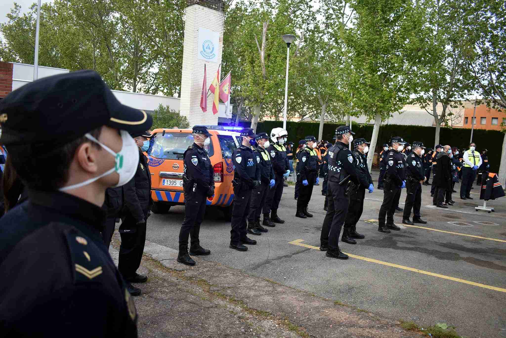 Triste fallecimiento del compañero de Protección Civil de Ciudad Real, José Luis Espadero 3