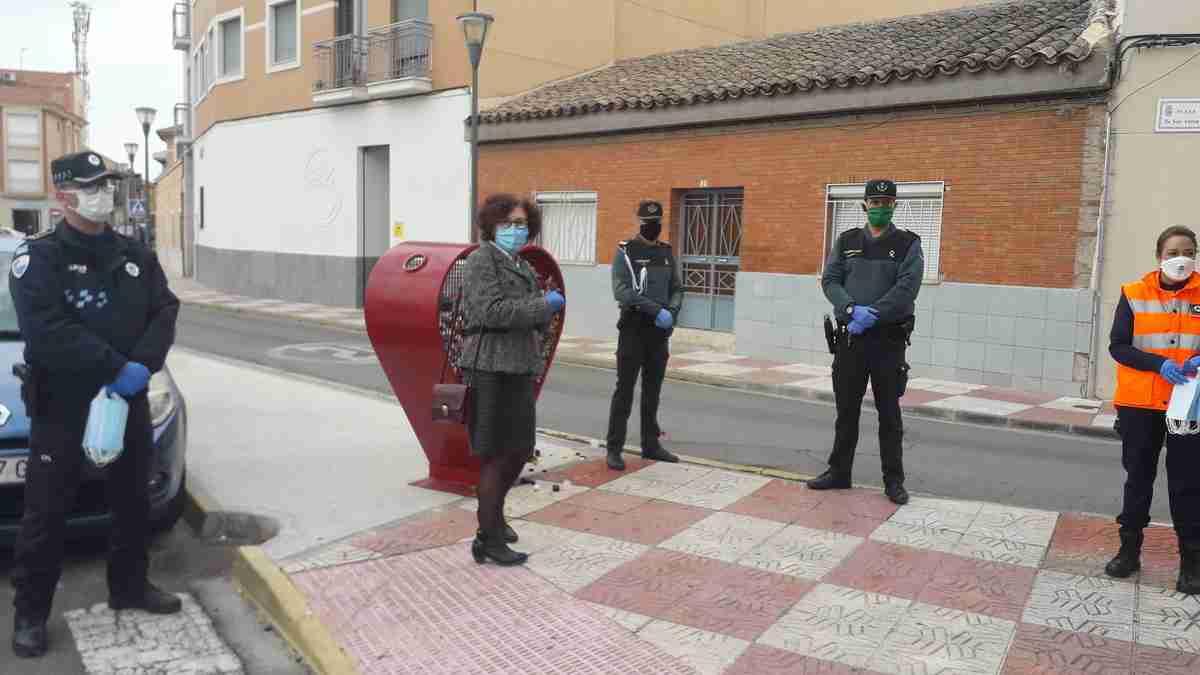 Comenzaron a repartir en Ciudad Real las 106.000 mascarillas que el Gobierno de España adquirió para desplazamientos al trabajo 2