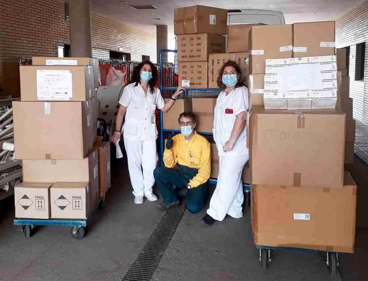 El Gobierno de Castilla-La Mancha envío más de 65.000 artículos de protección y 3.200 test rápidos para la provincia de Ciudad Real 2