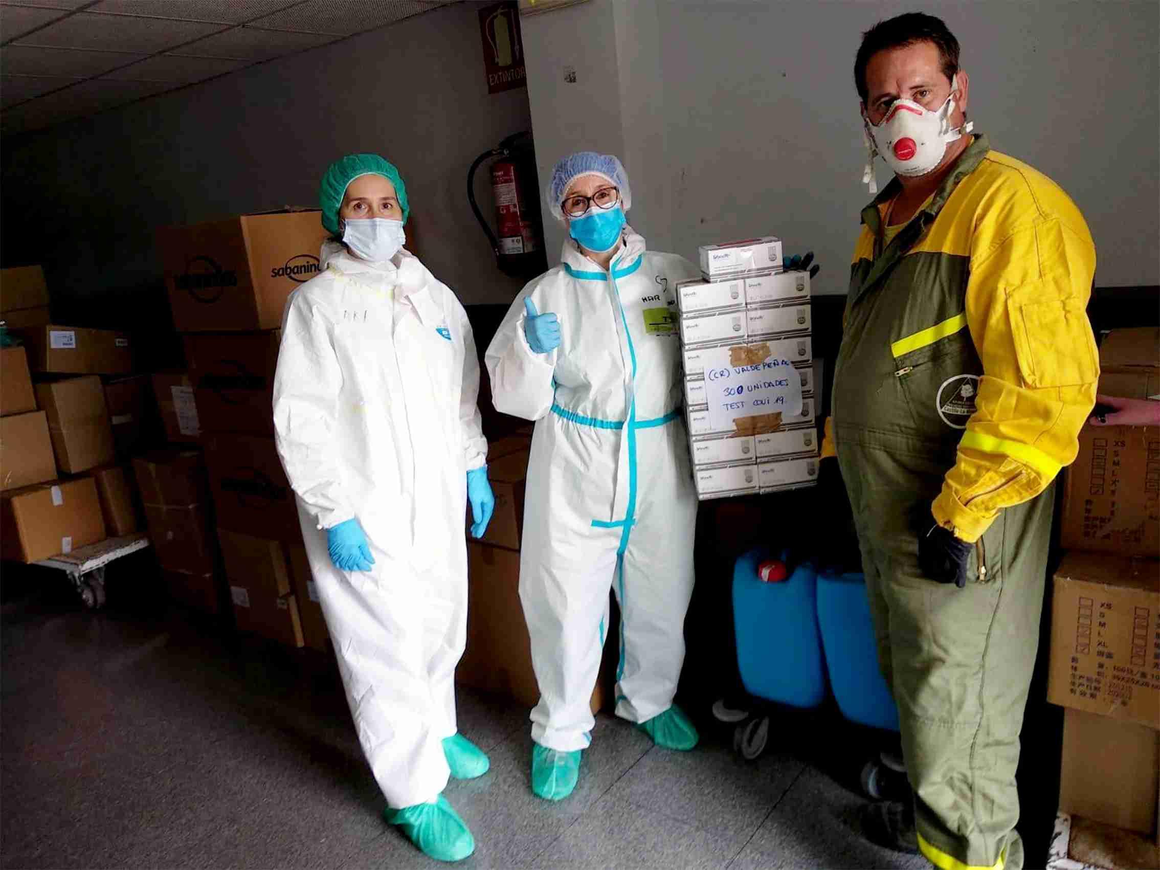 Centros sanitarios de la provincia de Ciudad Real reciben más de 61.000 artículos de protección y 2.200 test rápidos 1