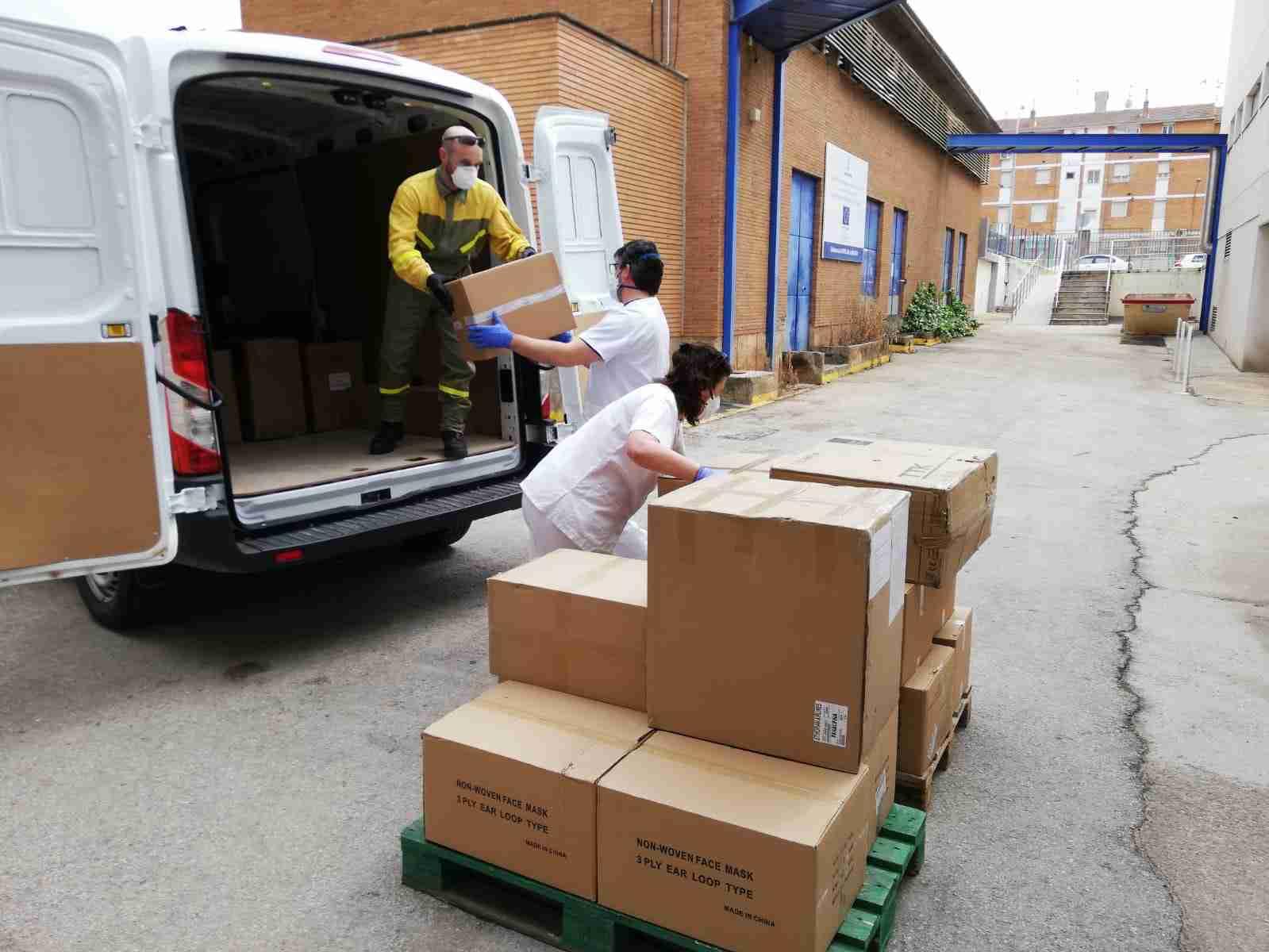 Centros sanitarios de la provincia de Ciudad Real reciben más de 61.000 artículos de protección y 2.200 test rápidos 2