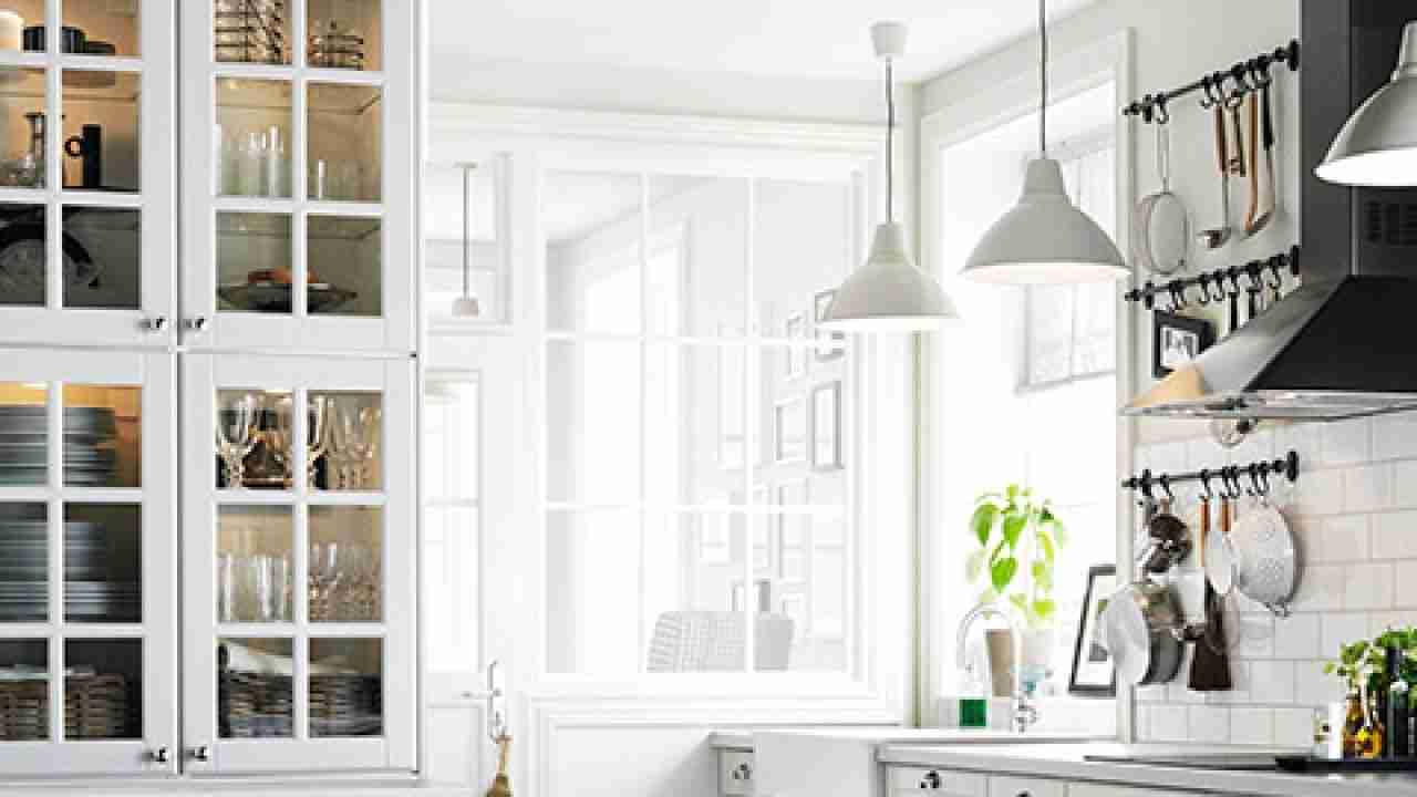 iluminar la encimera de la cocina lamparas