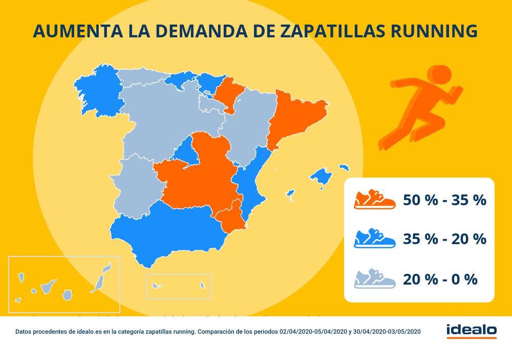 Corred, españoles, corred: La fase 0 de la desescalada dispara la demanda de zapatillas de running 1