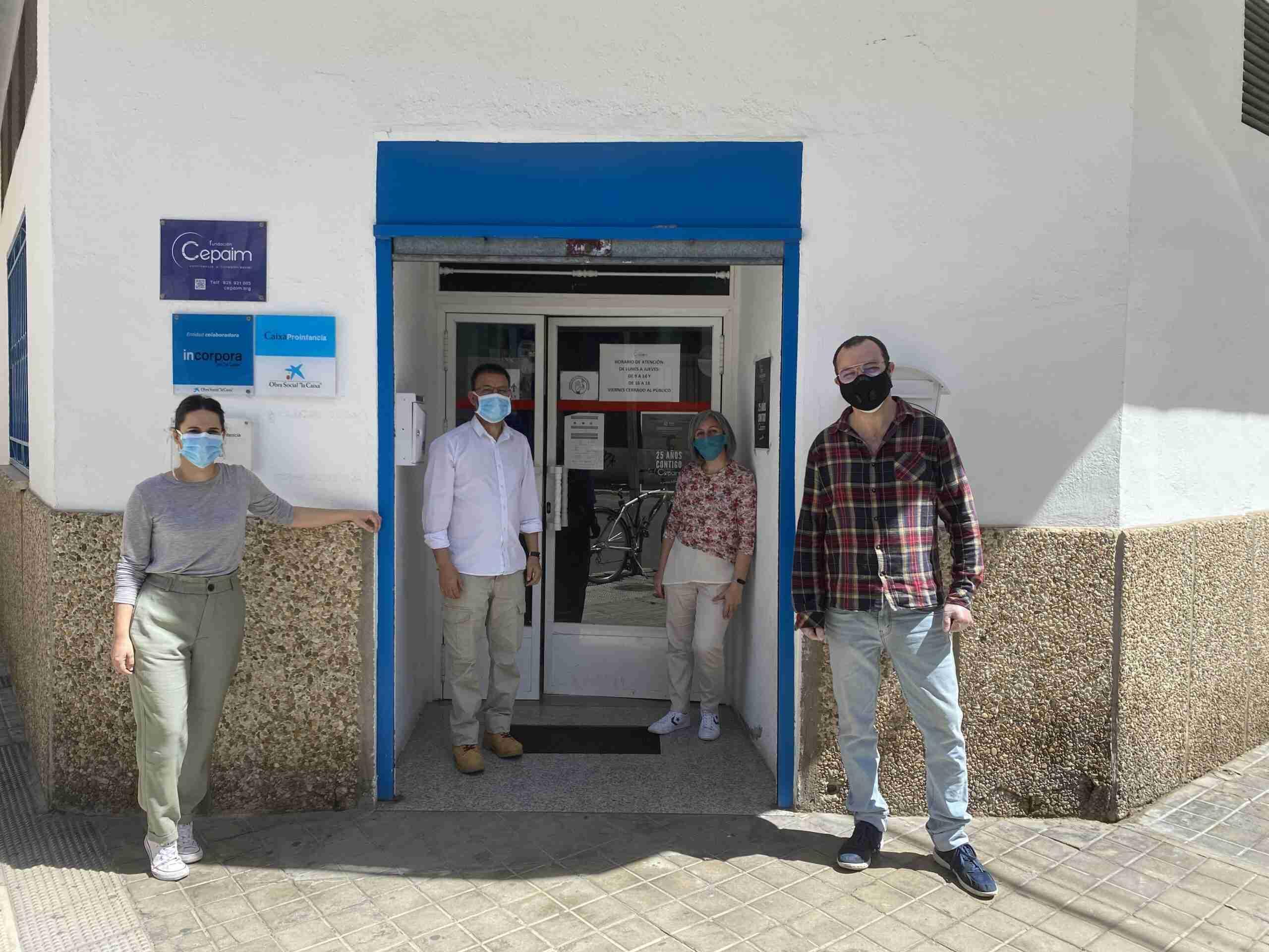 Fundación Cepaim sigue atendiendo las necesidades de las personas más vulnerables durante la emergencia sanitaria en Castilla-La Mancha 2