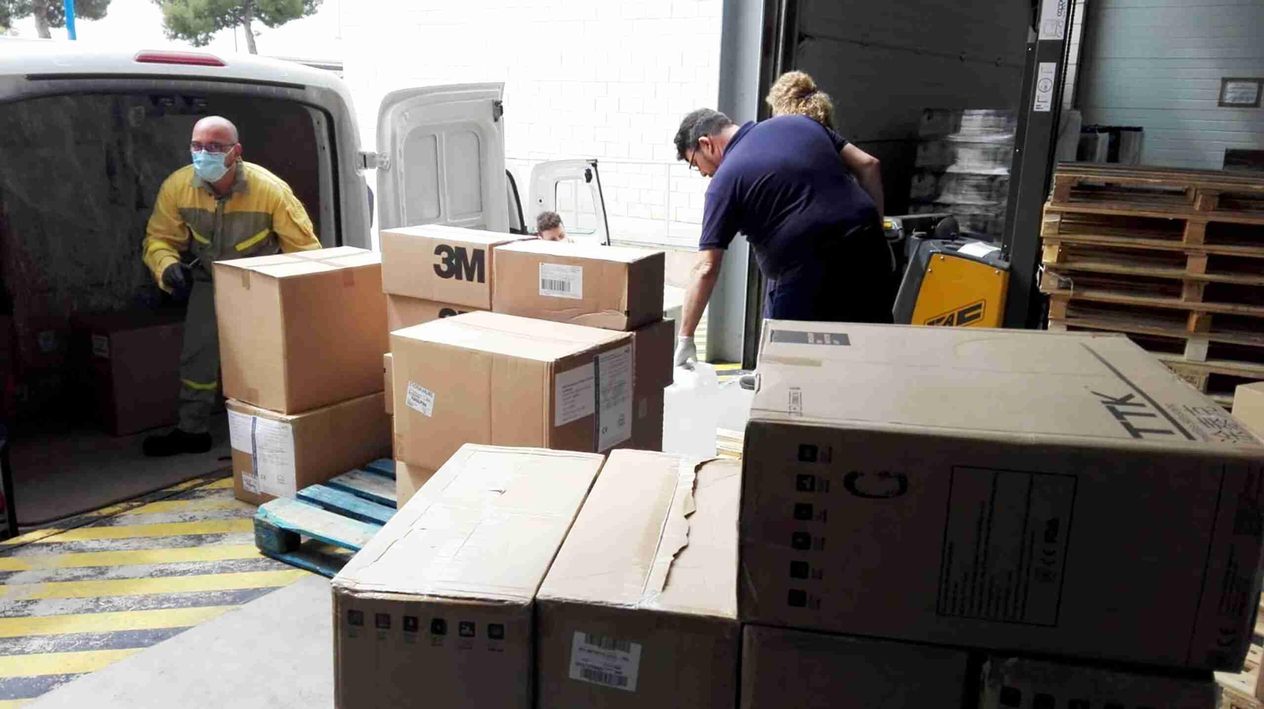 Castilla-La Mancha reparte hoy 31.200 test rápidos y más de 152.000 artículos de protección en la provincia de Ciudad Real 1