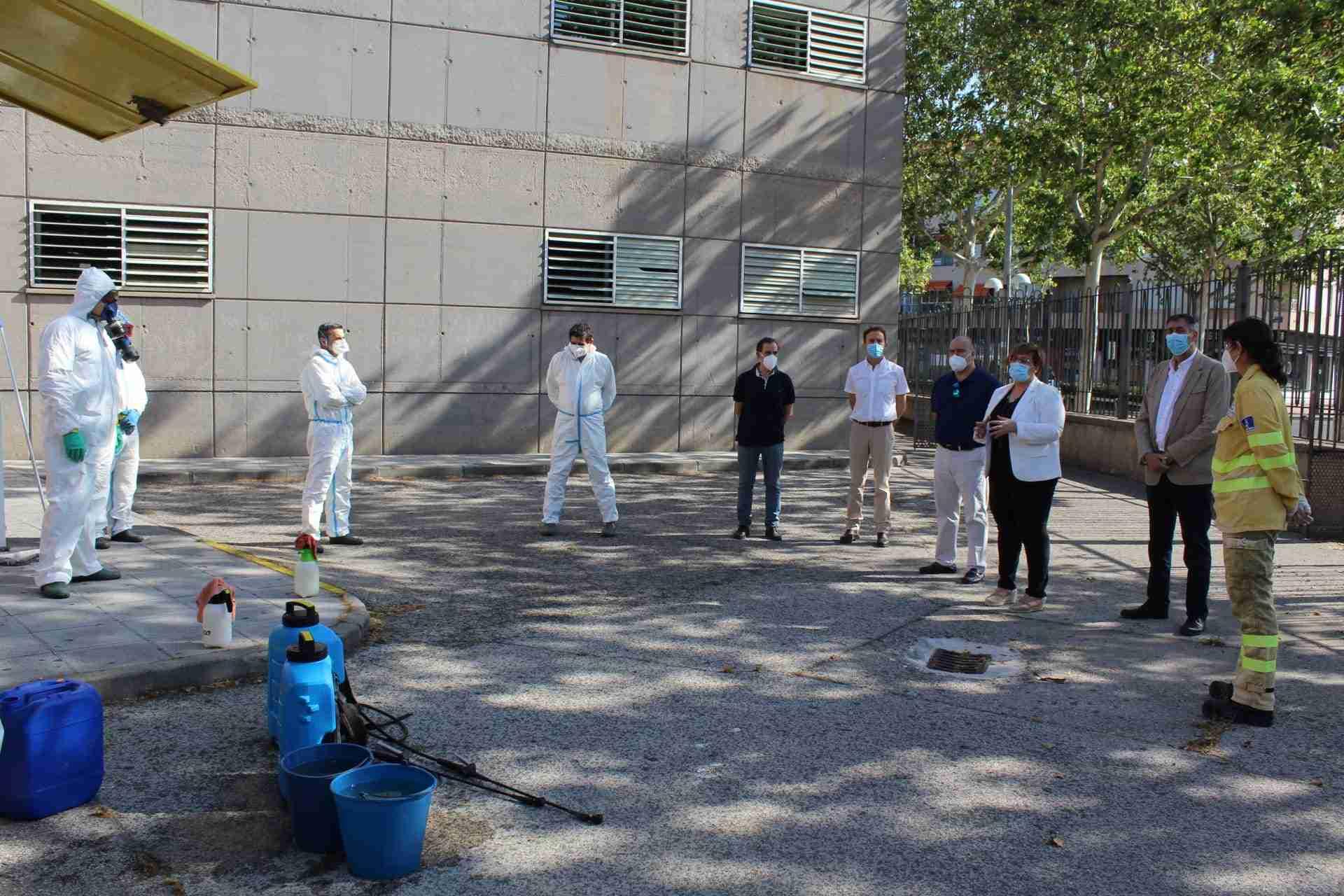 Castilla-La Mancha ha realizado a través de GEACAM un total de 2.560 actuaciones de desinfección en la provincia de Ciudad Real 3
