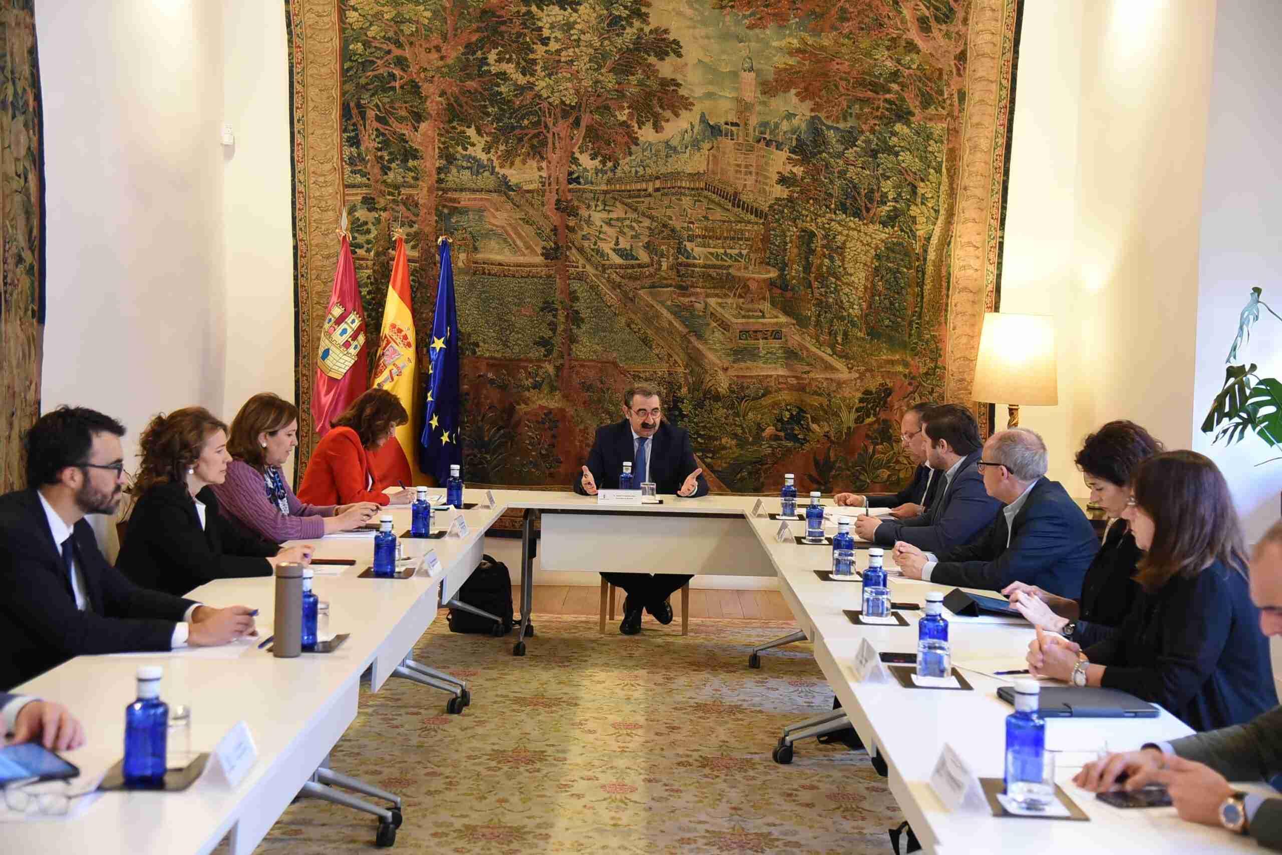 Nueva reunión del comité técnico de seguimiento Covid-19 de Castilla-La Mancha 1