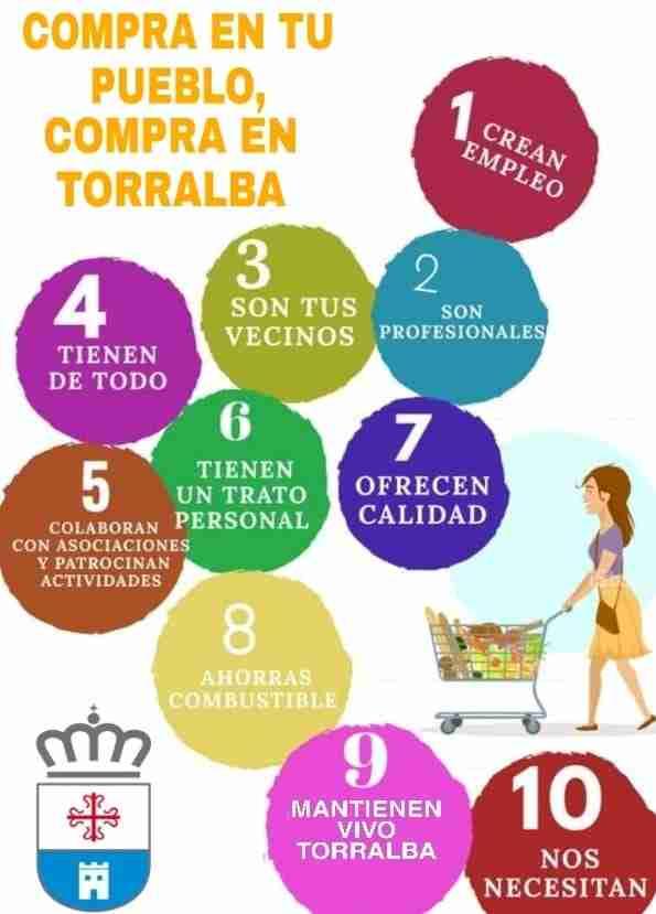 El Ayuntamiento de Torralba busca que los vecinos compren en la localidad 1