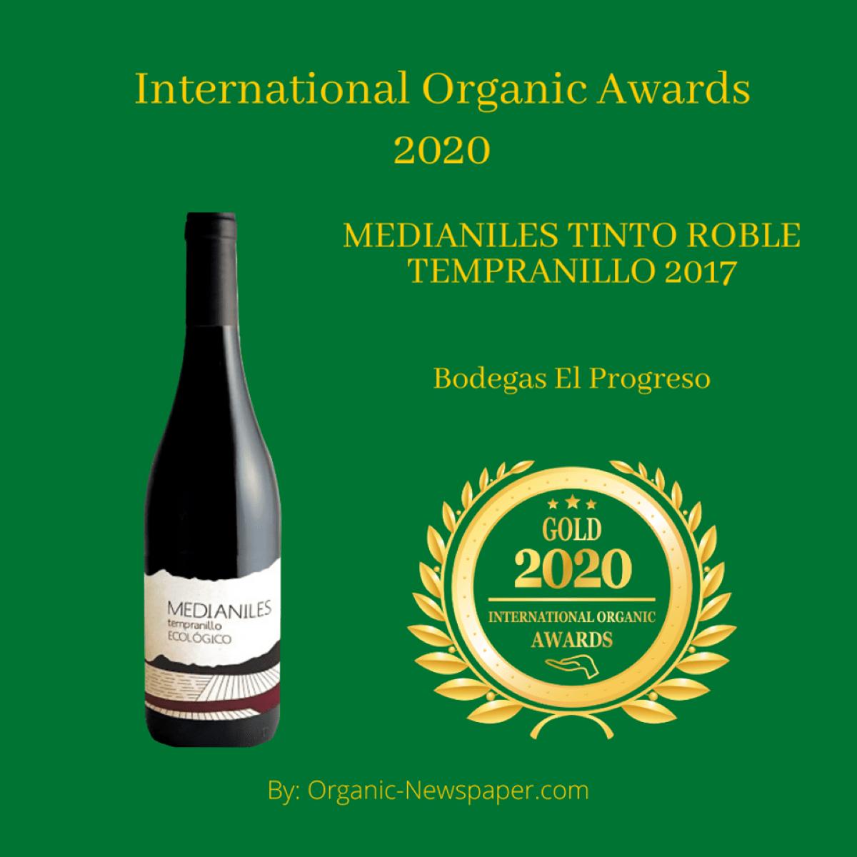 premios a los vinos ecologicos y veganos de el progreso