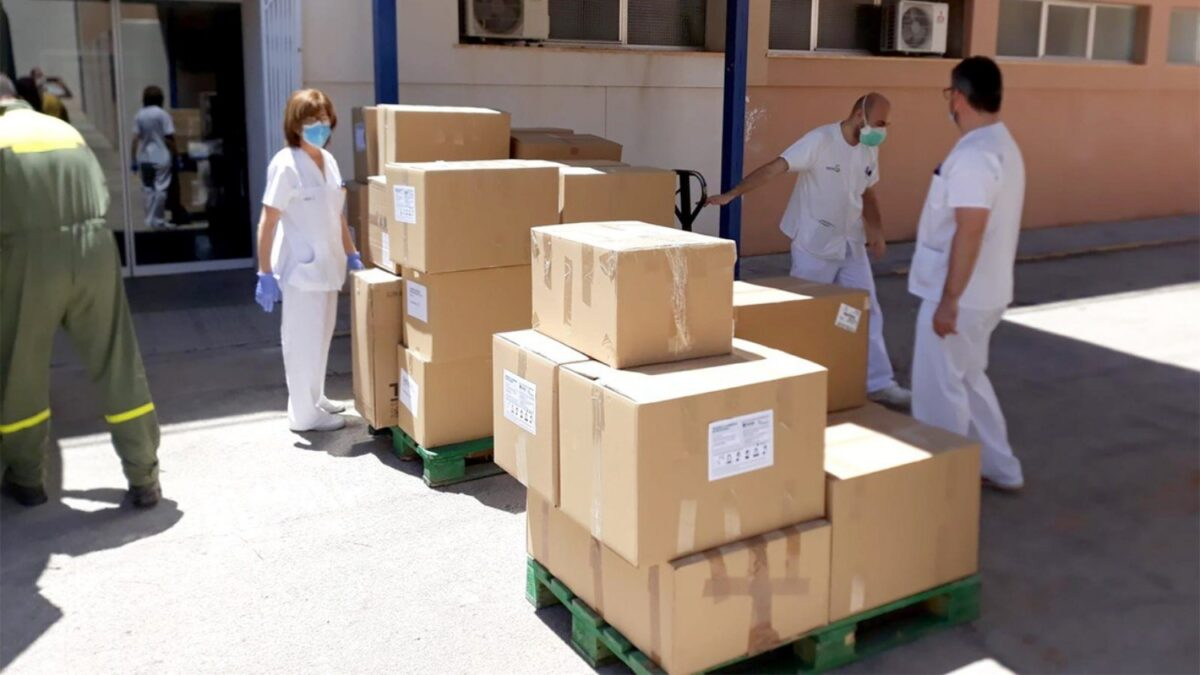 El Gobierno regional reparte un nuevo cargamento con más de 191.000 artículos de protección en la provincia de Ciudad Real 1