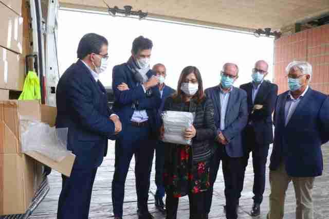 El Gobierno regional agradece a RECAMDER la implicación en la lucha contra el COVID-19 contribuyendo con 125.000 mascarillas donadas al SESCAM 1