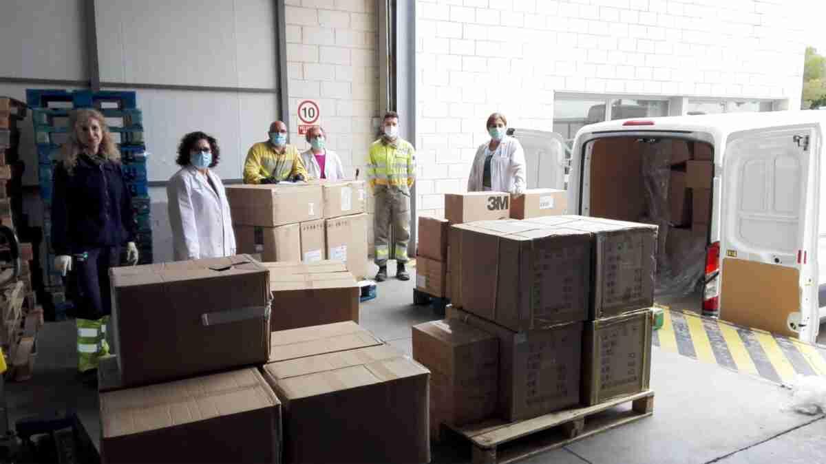 El Gobierno regional repartió 31.200 test rápidos y más de 152.000 artículos de protección en la provincia de Ciudad Real 1
