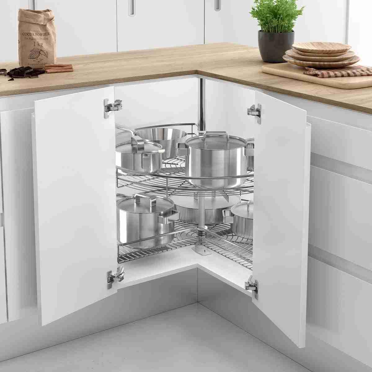 Cómo organizar una cocina sin muebles altos 41
