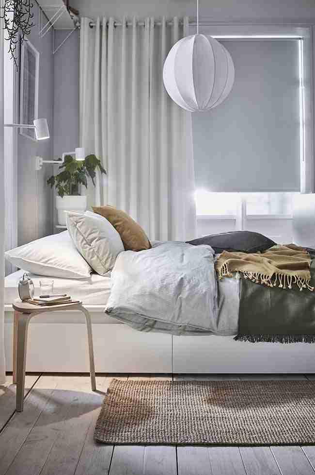 decoración a prueba de pandemia, dormitorio, cama