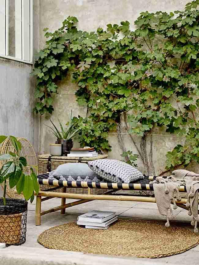 la naturaleza entra en casa, terrazas, plantas