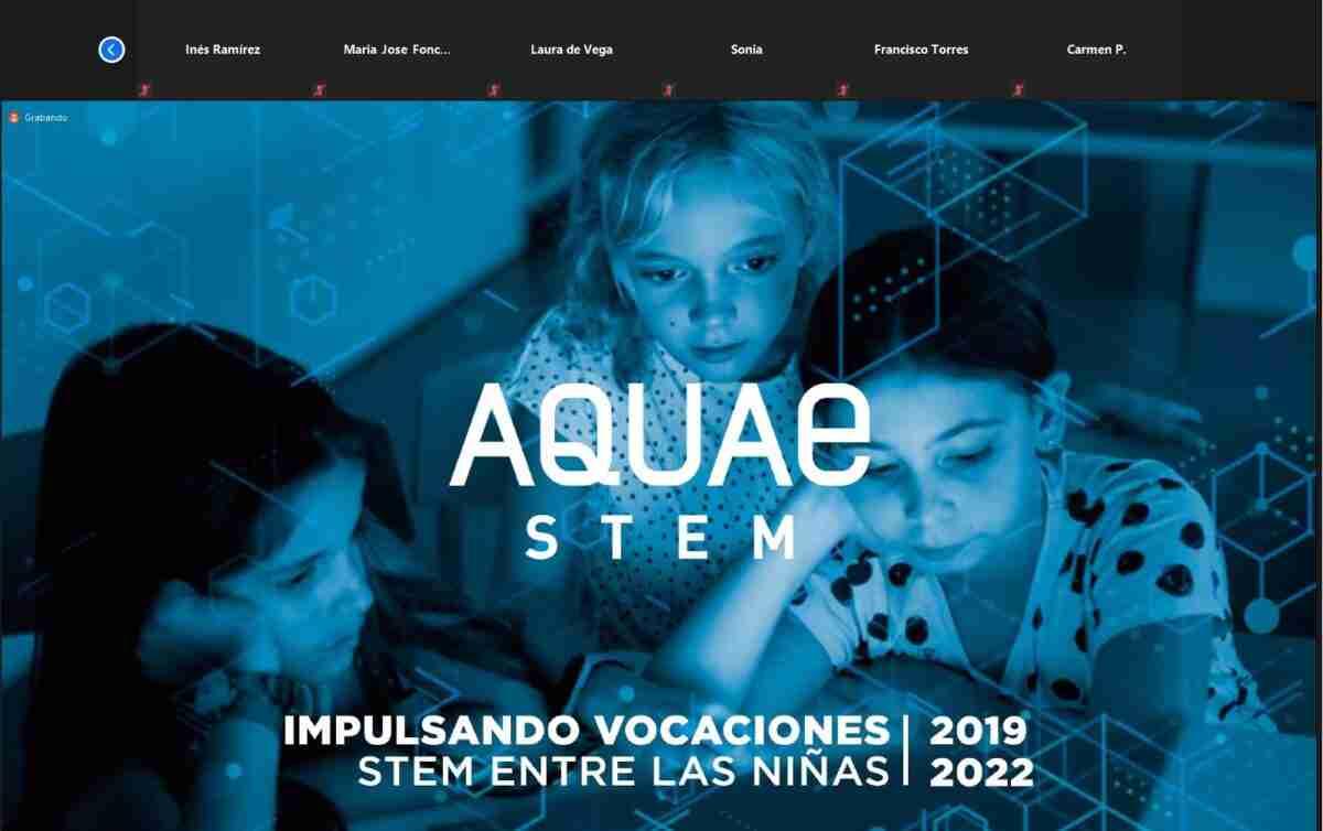 Concluyó el primer curso del proyecto Aquae STEM reconociendo el esfuerzo durante la pandemia 1