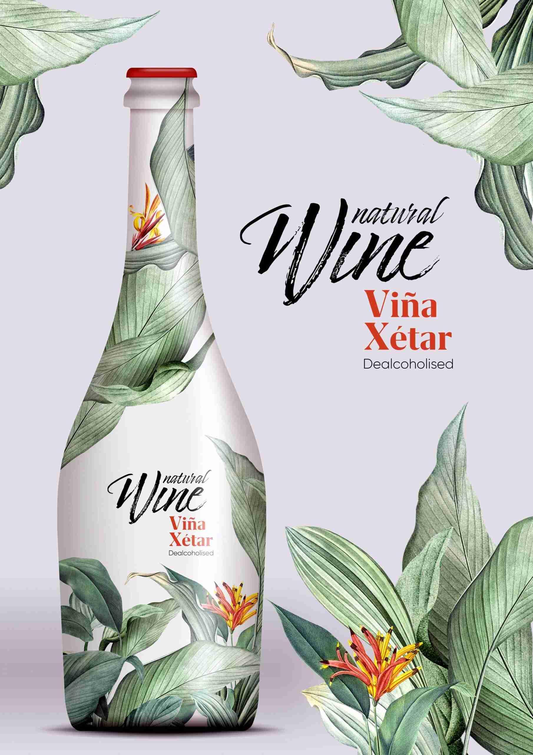 """Nace el nuevo """"Viña Xétar Sin"""" de El Progreso, espumoso sin alcohol con look tropical para dar la bienvenida al verano 1"""